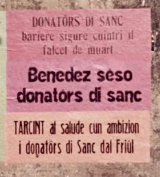 Congresso dei donatori – Tarcento 9.10.1960